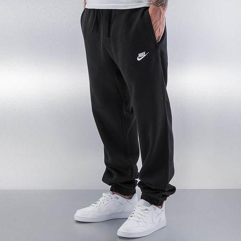 Nike NSW CF FLC Club Sweatpants BlackWhite | Tom in 2019