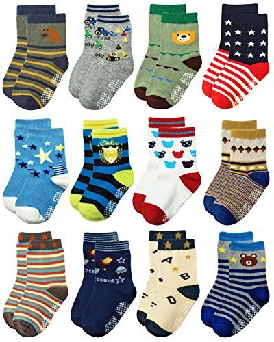 Deluxe Cotton Baby Socks for Boys