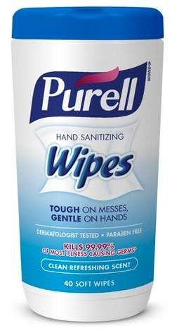 Purell Fresh Hand Sanitizer 40ct Hand Sanitizing Wipes Hand