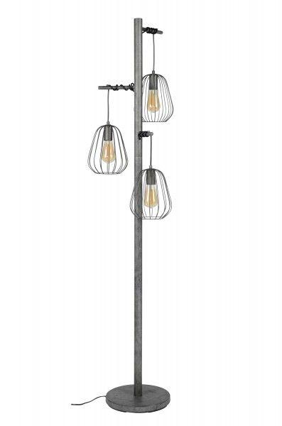 Die Stehlampe Lampoon Ist Garantiert Ein Eyecatcher Fur Ihr Zuhause Der Fuss Der Lampe Und Das Gestell Sind Aus Metall Gefertigt Und Mit Stehlampe Lampe Lampen
