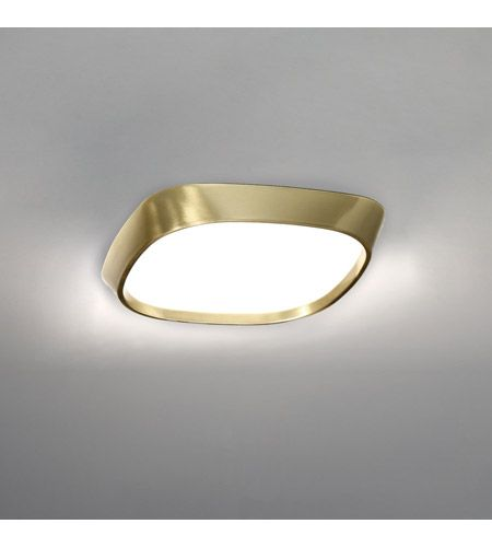 Issa Led 10 Inch Brushed Br