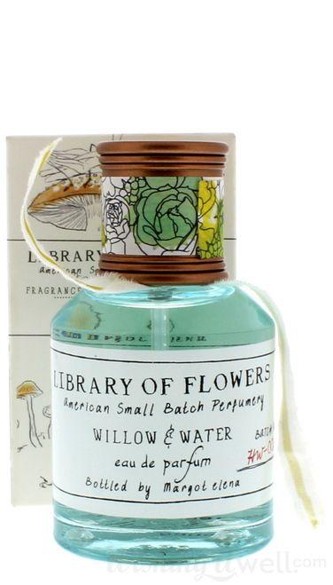 Library Of Flowers Eau De Parfum Willow Water 1 7 Oz With Images Willow Water Eau De Parfum Perfume Bottles