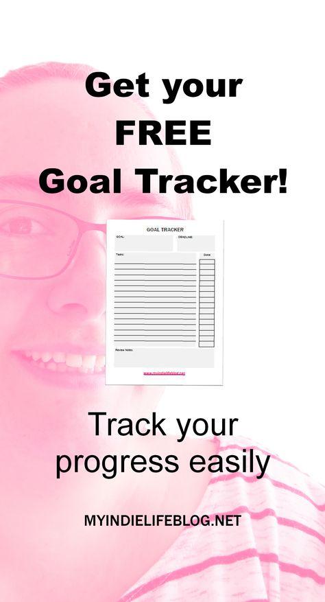 get you free goal tracker now www myindielifeblog net my indie