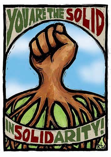You Are The Solid In Solidarity Social Justice Greeting Cards Rlm Arts Solidarity Creative Expressions Social Justice