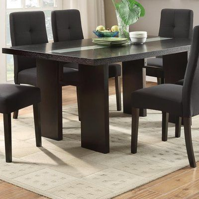 Winston Porter Iseminger Wooden Dining Table Dining Table