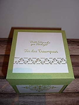 Geldgeschenk Explosionsbox Zur Hochzeit Amazon De Handmade Geldgeschenke Geschenke Einladungskarten Hochzeit