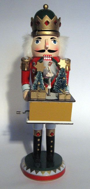 "nutcrackers | Wholesale Nutcrackers – 15"" inch Music Box Nutcracker – Nutcracker ..."