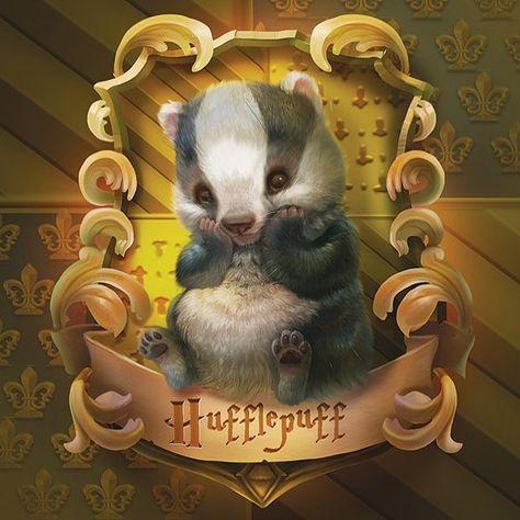 cute baby Hogwarts illustration.