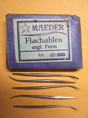 RMLeatherSupply Size 2 Pack of 25 Blunt Tip for Leather Sewing John James Saddlers Harness Needles