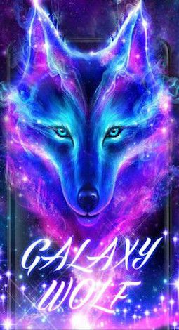 Galaxy Wolf For Keyboard Theme Galaxy Wolf Wolf Wallpaper Wolf Artwork