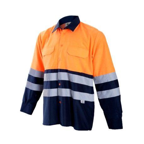 b97581e3614 Camisa Manga Larga Combinada Alta Visibilidad en 2019 | Vestuario