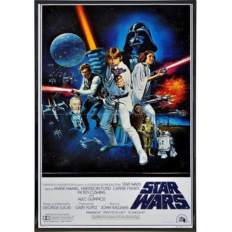1977 Star Wars International Film Poster Print - Print Only