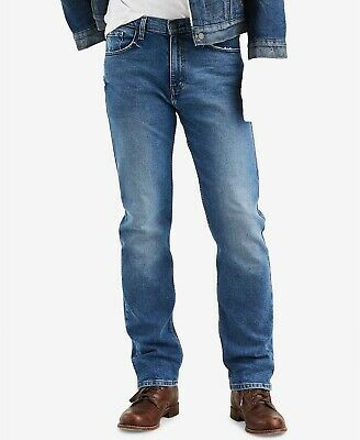 Crosshatch Fashion Jeans Men/'s New Straight Fit Vintage Faded Denim Pants