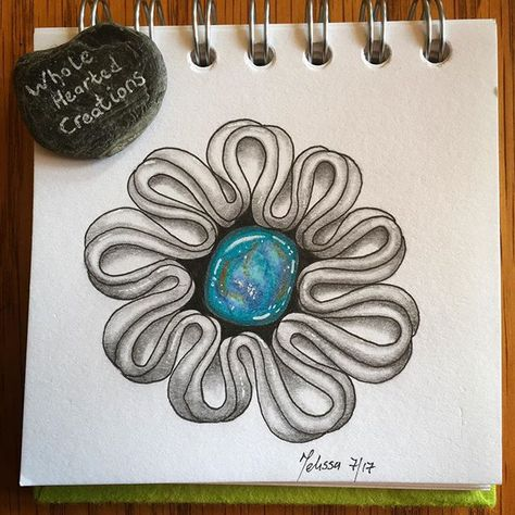 doodle Turquoise gem stones today -...