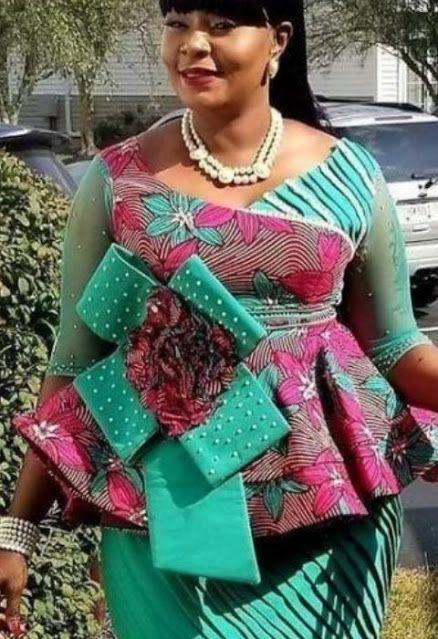 Ankara Peplum Styles 2021 For African Women   Peplum styles, Ankara peplum styles, African women