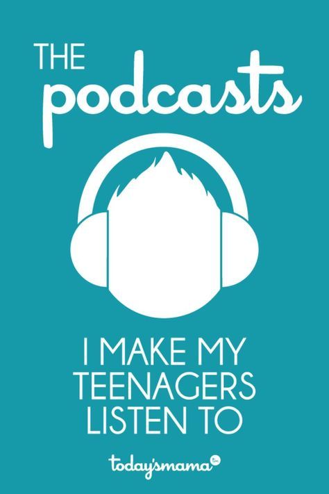 The best podcasts for teens. I listen to multiple podcasts every week and assign the best ones to my teenagers. Here's the list! Parenting Teens, Parenting Advice, Christian Podcasts, Christian Resources, Kids Education, Education Quotes, Special Education, Up Girl, Raising Kids