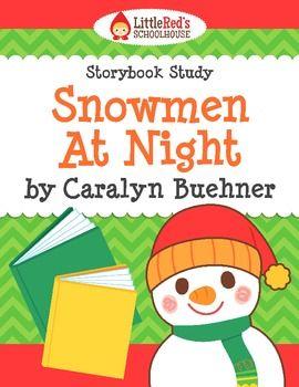 Snowmen At Night Worksheet Packet