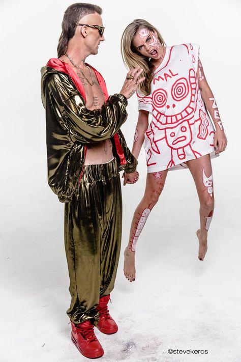 Die Antwoord w/ Cara Delevigne, Ninja & Cara Delevigne--Ugly Boy,