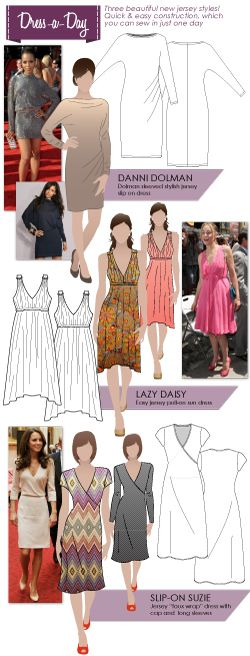Sew a dress in just ONE day!