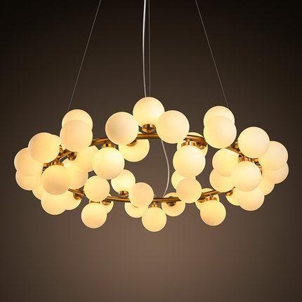 95cm 45 Lights Led Pendant Light Iron