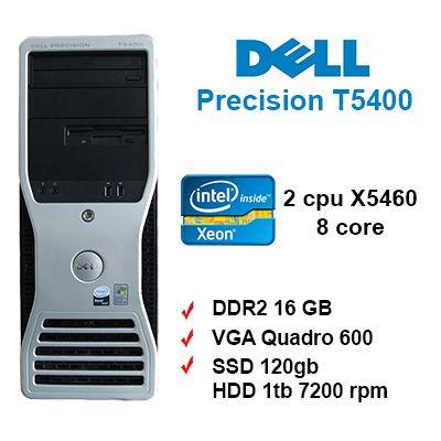 Original Dell Precision Workstation 490 T5400 CPU Copper Heatsink 0JD210 JD210