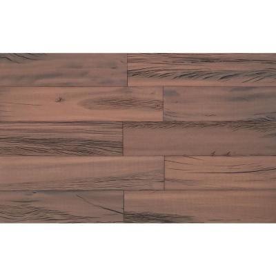5 16 In X 3 5 8 In X Random Lengths Butternut Brown Vintage Shiplap Planks 8203751 The Home Depot Wood Panel Walls Vinyl Wall Panels Reclaimed Barn Wood