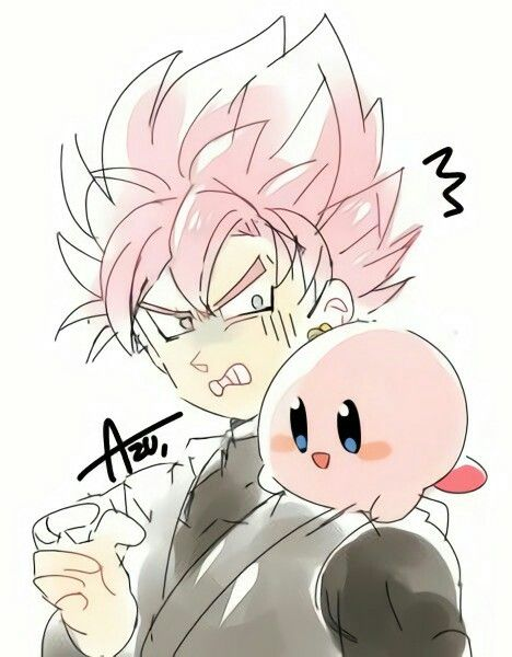 Black Rose Kirby With Images Dragon Ball Image Anime