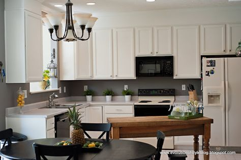 Evolution of Style: Oak Kitchen Reveal: From Builder Grade to Custom Made