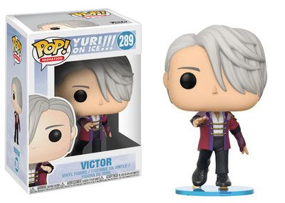 Victor Skate Wear Pop Anime Vinyl Figure Yuri On Ice