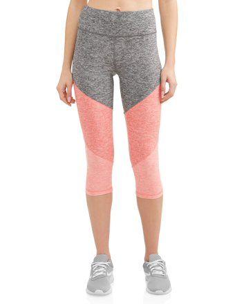acf6add19267 Athletic Works - Women's Dri More Capri Core Legging - Walmart.com ...
