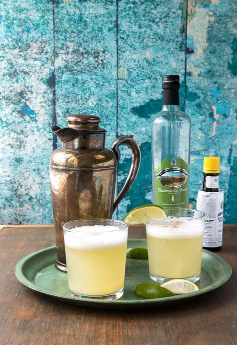 Peruvian Pisco Sour. A light, citrusy cocktail to get your summer started!