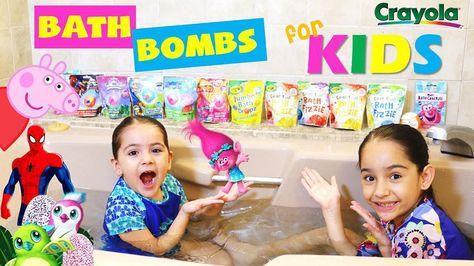 bathbomb TESTING BATH BOMBS FOR KIDS!!!...