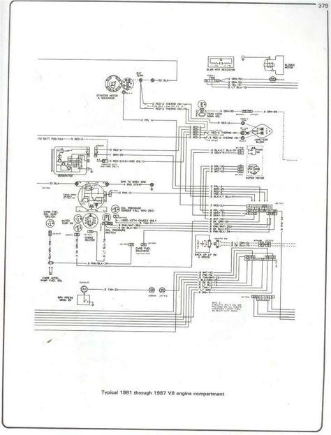 16 1987 Chevy Truck Dash Wiring Diagram Truck Diagram In 2020 Chevy Trucks 87 Chevy Truck Truck Engine