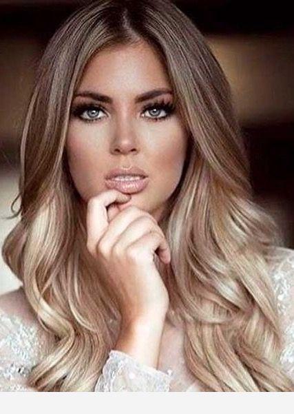 Blue Eyes And Cute Hair Color Fall Blonde Hair Blonde Hair Color