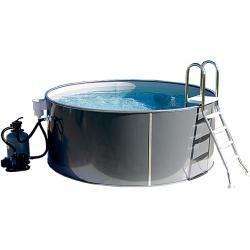 Pool Set Durchmesser 300 Cm Hohe 120 Cm 8 000 L Bauhaus Info Pool Im Garten Stahlwand Poolfolien In 2020 Bauhaus Compost Bin
