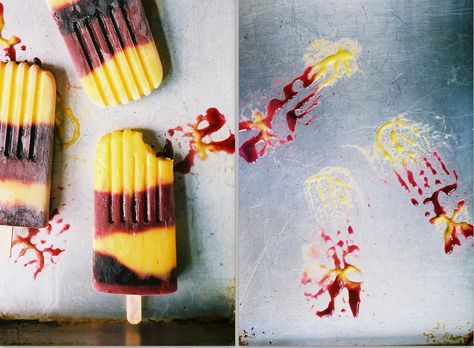 mango, blueberry and coconut ice pops from one of my fave blogs, Apt. 2B Baking Co.