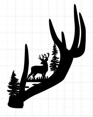 Installation videos for vinyl decals can be viewed on You Tube to help avoid mistakes. Written Installation instructions will be included. This is for ONE CRICUT computer cut vinyl decal as shown in picture. Cricut Craft Room, Cricut Vinyl, Vinyl Art, Vinyl Decals, Decals For Cars, Hirsch Silhouette, Deer Silhouette, Free Font Design, Hunting Decal