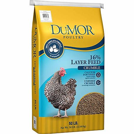 Dumor Poultry Layer 16 Crumble 50 Lb At Tractor Supply Co