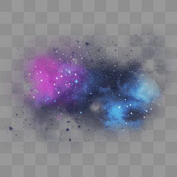 Blue Purple Starry Light Effect Galaxy Clipart Black Dispersed Png Transparent Clipart Image And Psd File For Free Download In 2021 Starry Lights Blue And Purple Flowers Light Blue Background