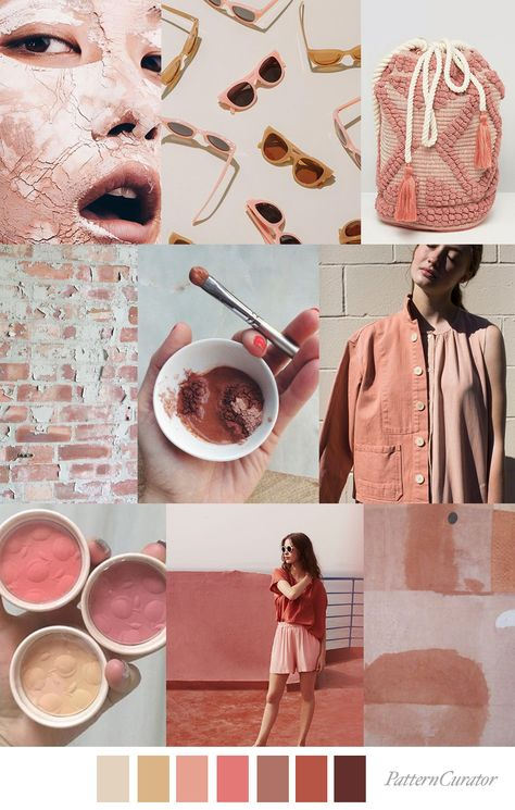 PINK CLAY - Color, print & pattern trend inspiration for SS 2020 by ...