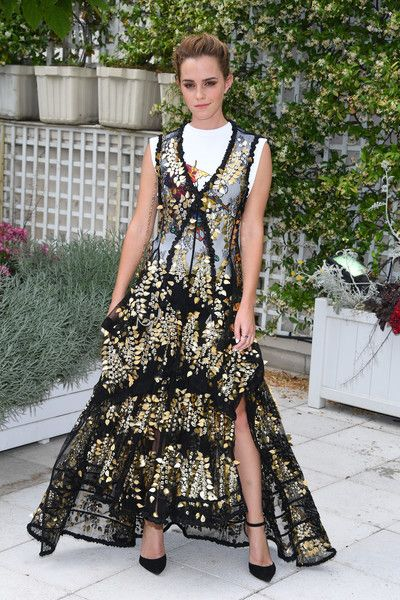 Emma Watson in Louis Vuitton at 'The Circle' Photocall - The Most Daring Red Carpet Gowns of 2017 - Photos