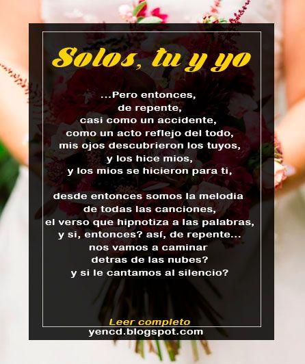 Poema De Amor Para Dedicar Al Novio O A La Novia Un Poema