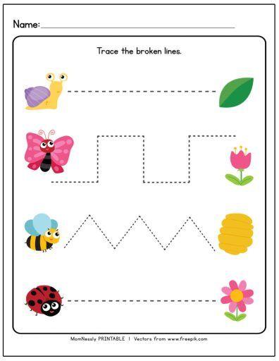 Printable Tracing Lines Worksheets Preschool Tracing Tracing Worksheets Preschool Tracing Worksheets Free Preschool tracing worksheets free