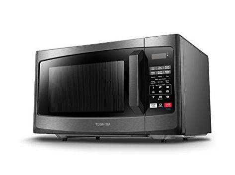 Microwave Oven With Sound On Off Eco Mode And Led Lighting Microwave Microwave Oven Stainless Steel Microwave