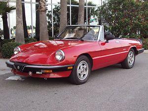 Alfa Romeo : Alfa Romeo Spider Veloce
