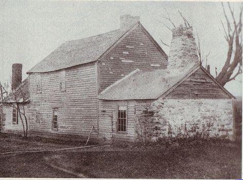 Peak House Medfield MA Art Print King Philip Historic House History Antique Old