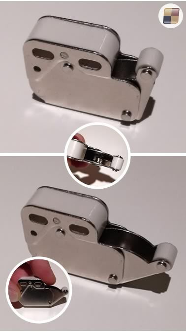 Blocca Ante Fai Da Te.Chiusura A Scatto Mini Latch Quadro Elettrico Pulizia E Armadietti