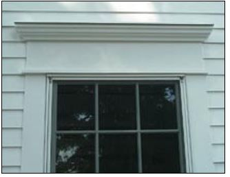 To Add A Traditional Touch We Re Making These Caps Above Our Interior Windows And Exterior And Interior Doors Window Trim Exterior Windows Exterior