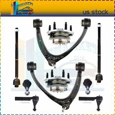 DLZ 2 Pcs Front Outer Tie Rod Ends Compatible with 2002-2006 Chevrolet Avalanche 1500 1999-2006 Chevrolet Silverado 1500 4WD 2000-2006 Chevrolet Suburban 1500 2000-2006 Chevrolet Tahoe 4WD ES3493T