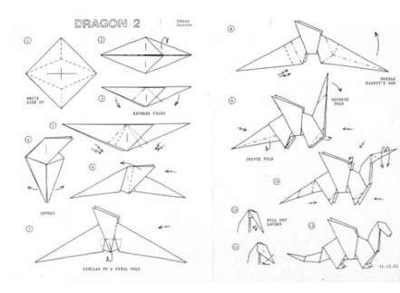 Pin By Cecilia Datoon On Origami Instructions Dragon Origami